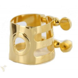 Woodstone ligature gold plated