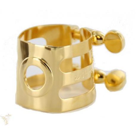 Woodstone ligature gold plated