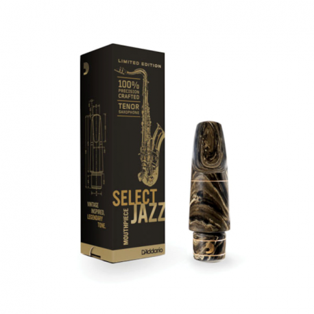 D'addario Select Jazz Marble tenor Mouthpiece