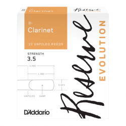 D'addario Reserve Evolution Klarinet