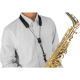 PROTEC Saxofoon draagkoord kunststof musketon