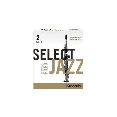 D'addario select Jazz sopraan
