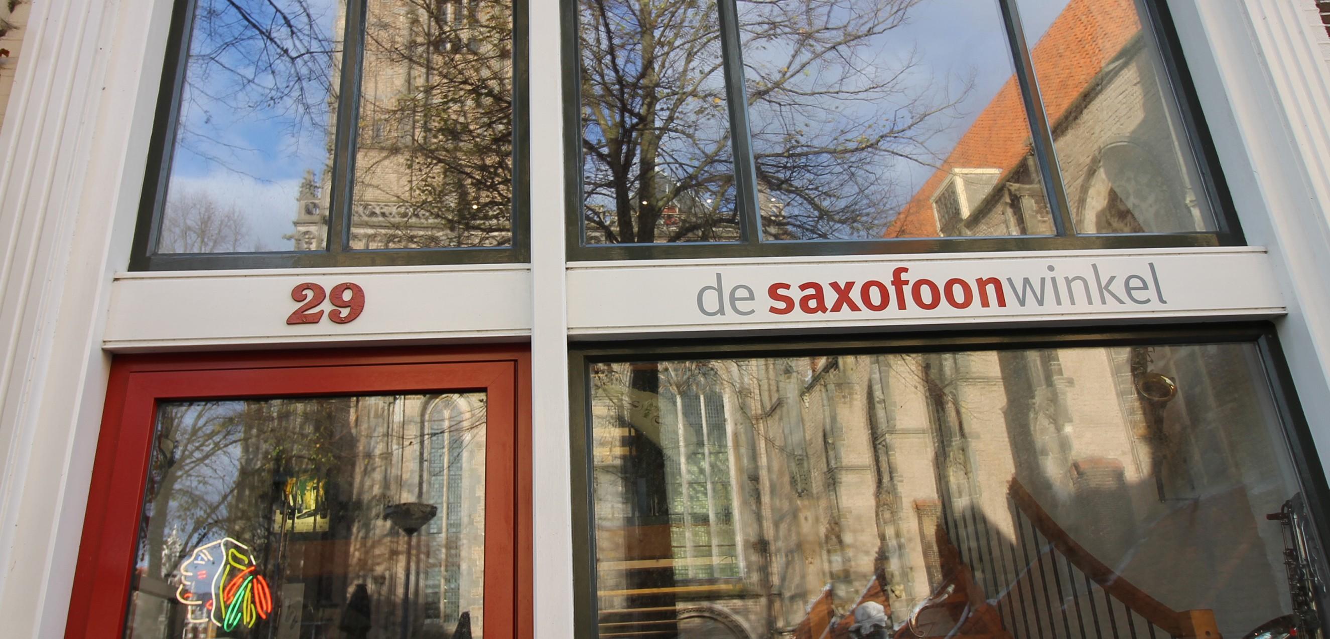 De Saxofoonwinkel Grote Kerkhof 29